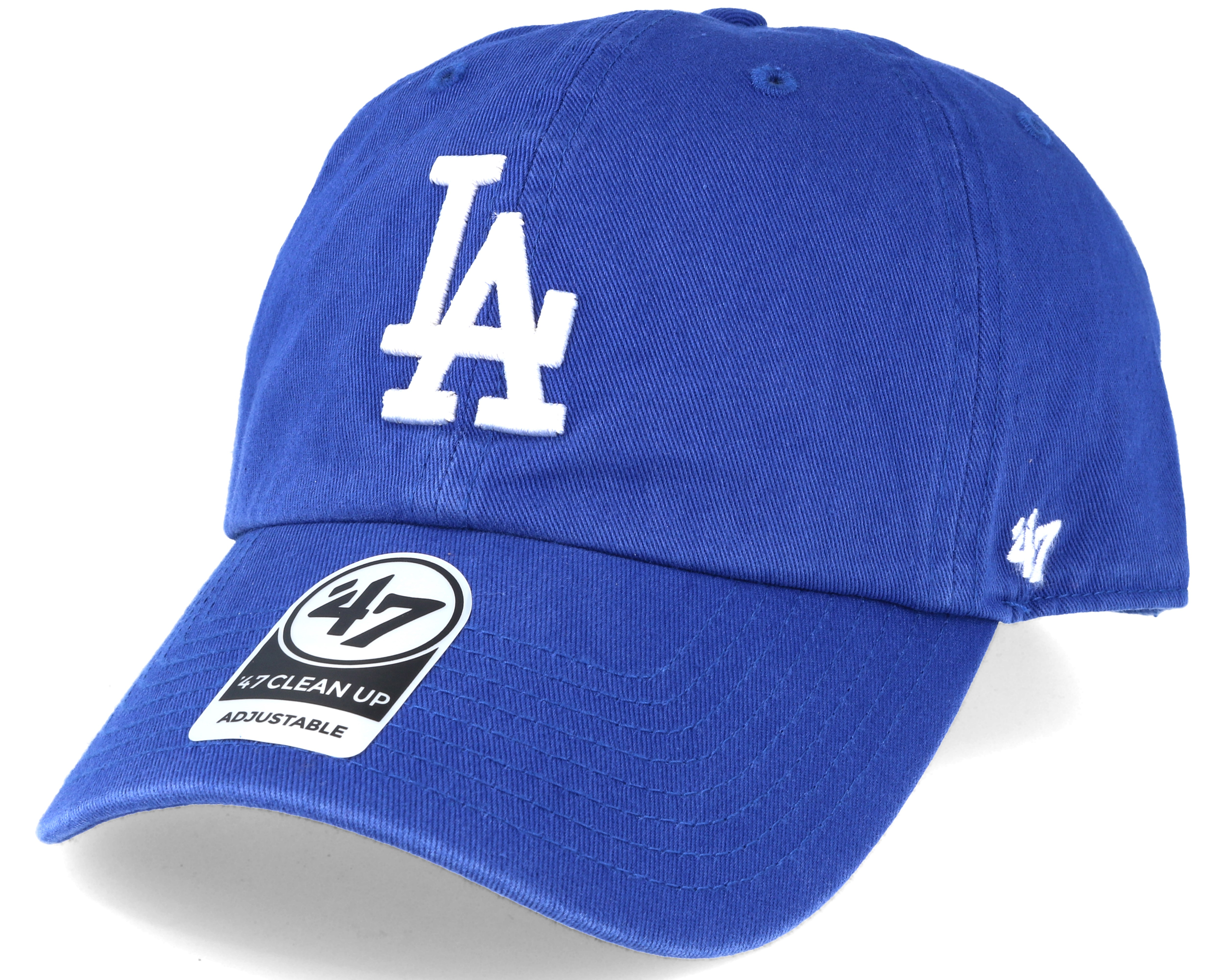 buy popular 7d1ca 76c01 Product information Los Angeles Dodgers 2 Tone Clean Up Royal Blue  Adjustable - 47 Brand