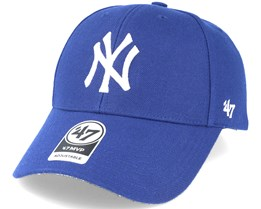 New York Yankees Mvp Royal Blue Adjustable - 47 Brand