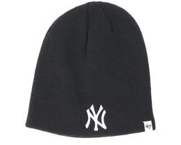 New York Yankees Black Beanie - 47 Brand