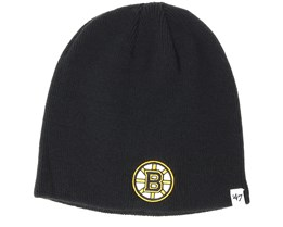 Boston Bruins Black Beanie - 47 Brand