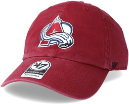 Colorado Avalanche Clean up Cardinal Adjustable - 47 Brand