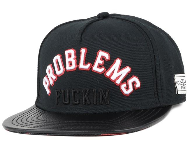Problems Black Orange Snapback - Cayler   Sons caps - Hatstore.no 4cfcd215d98