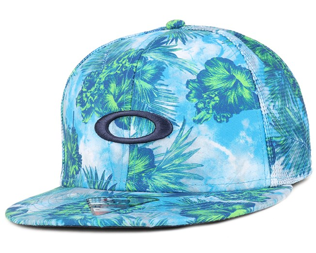 Mesh Sublimated Sapphire Snapback - Oakley