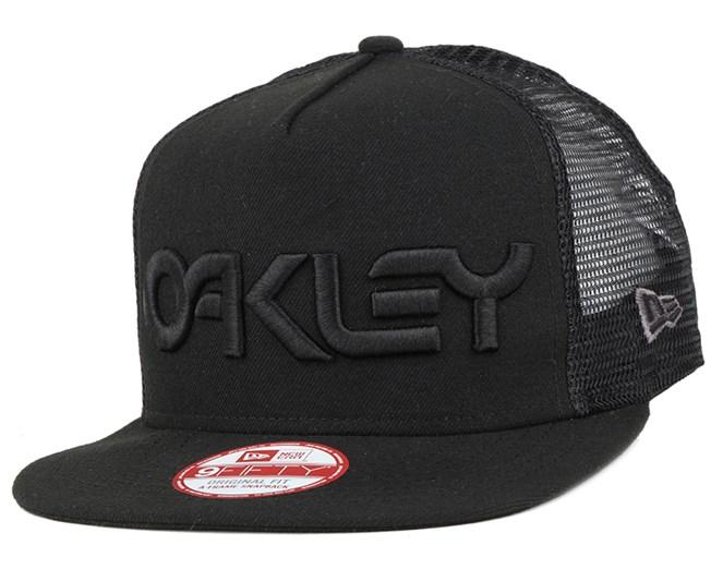 Factory Pilot Mesh Jet Black 9Fifty Snapback - Oakley
