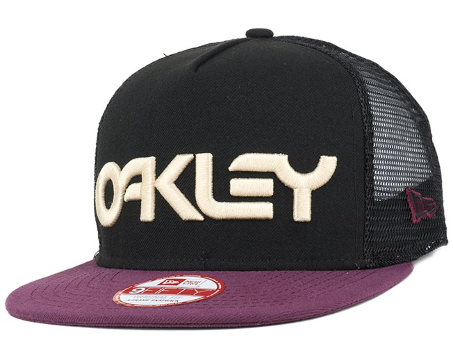 Factory Pilot Mesh Purple Night 9Fifty Snapback - Oakley