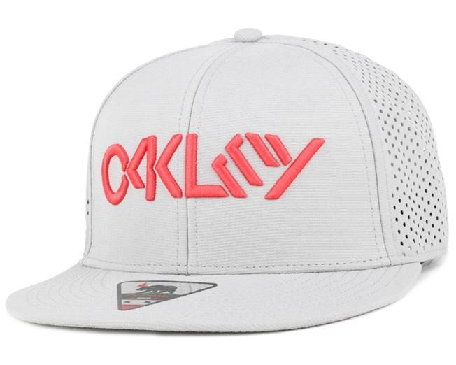Octane Performance Stone Gray Snapback - Oakley