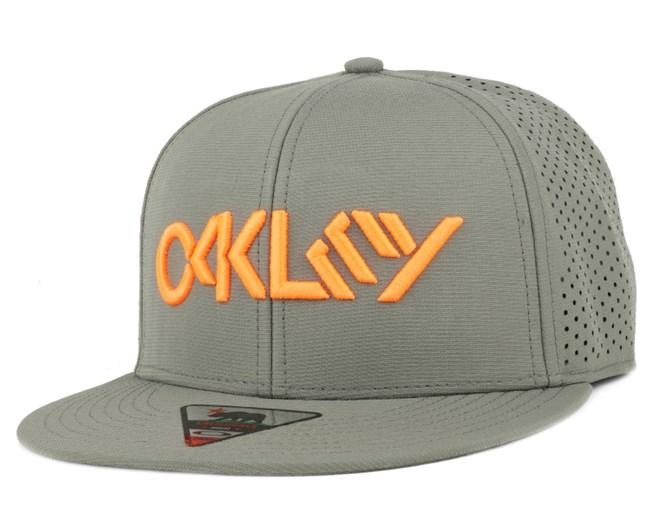 Octane Performance Worn Olive Snapback - Oakley