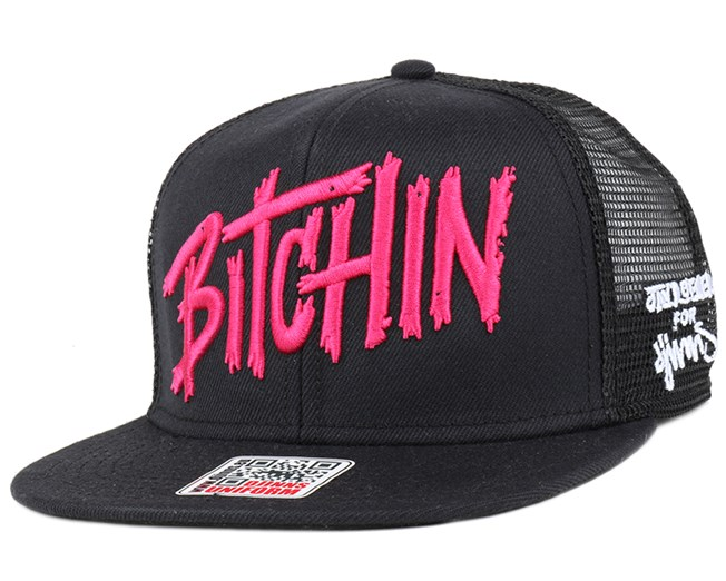 Bitchin Black Snapback - Djinns