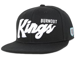 Burnout Kings Black Snapback - Hoonligan