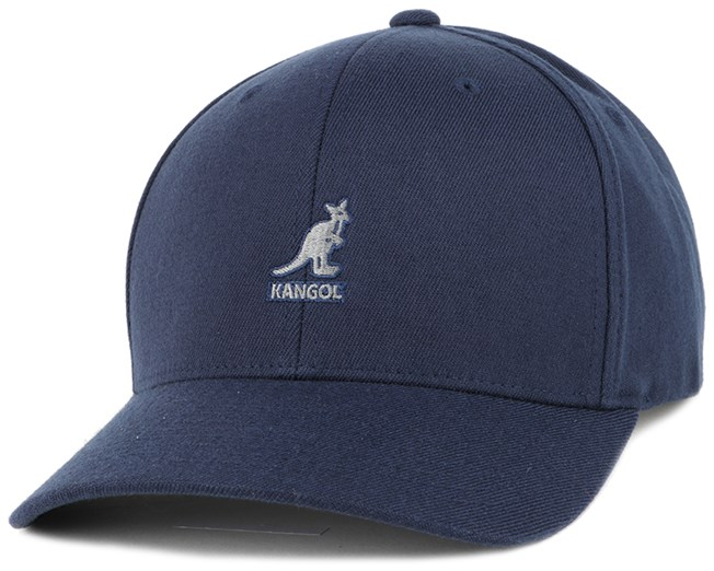 Wool Dark Blue Flexfit - Kangol