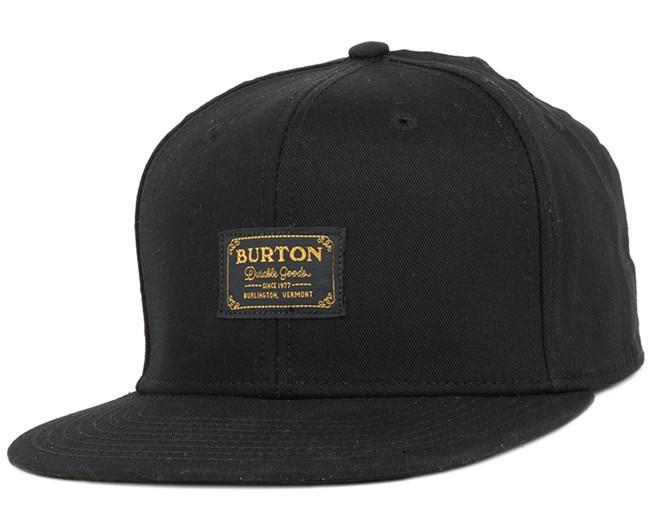 Riggs Black/Gold Snapback - Burton