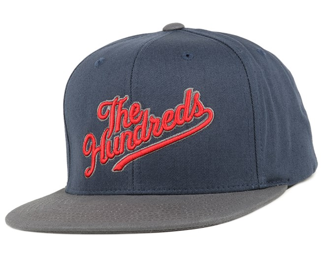 Slant Tail Navy Snapback - The Hundreds