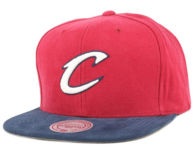 Cleveland Cavaliers Sandy Off White Snapback - Mitchell & Ness