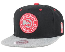 Atlanta Hawks Greytist Snapback -Mitchell & Ness