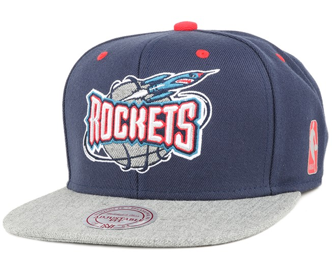 Houston Rockets Greytist Snapback - Mitchell & Ness