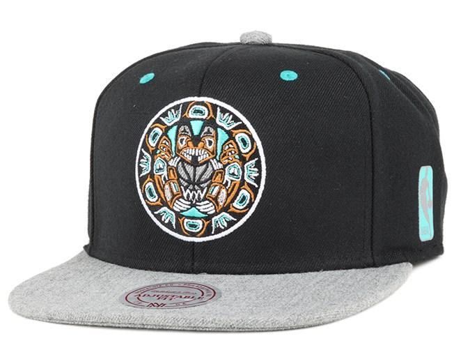 Vancouver Grizzlies Greytist Snapback - Mitchell & Ness