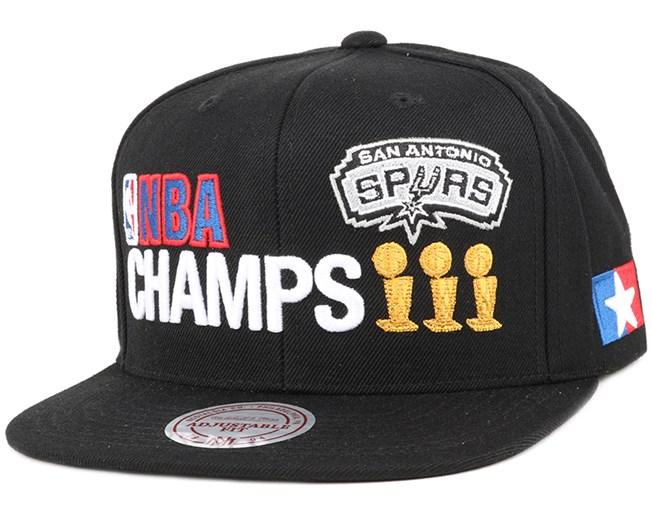 San Antonio Spurs 2005 Champions Snapback - Mitchell & Ness