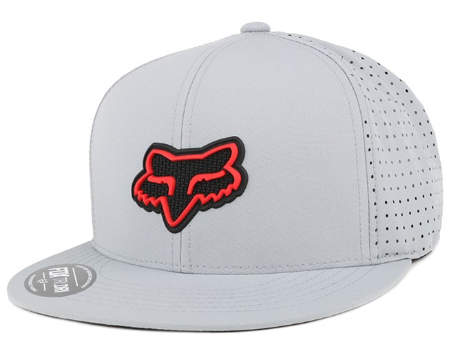 Wallace Grey Snapback - Fox