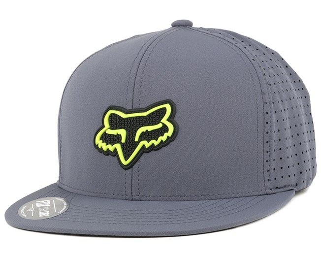 Wallace Dark Grey Snapback - Fox