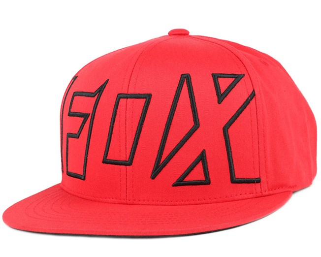 Crisis Flame Red Snapback - Fox