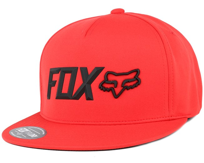Lampson Flame Red Snapback - Fox