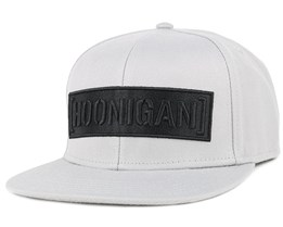 Censorbar Grey/Black Snapback - Hoonigan