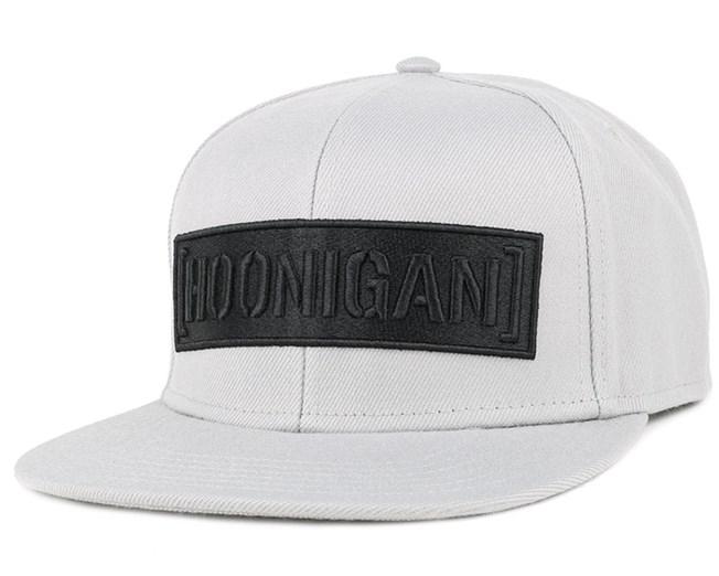 Censorbar Grey/Black Snapback - Hoonigan