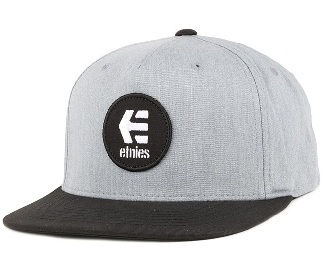 Rook Grey/Heather Snapback - Etnies