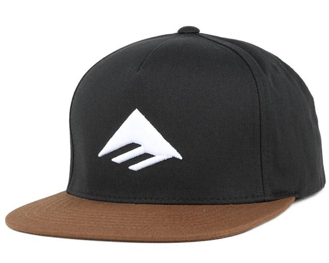Triangle Black/Brown Snapback - Emerica
