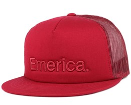 Pure Burgundy Trucker - Emerica