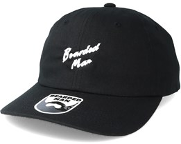 Script BM Black Dad Cap - Bearded Man