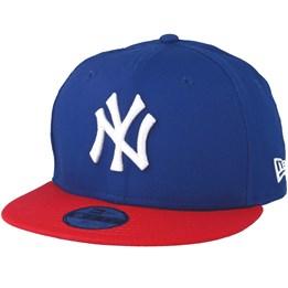New Era Kids NY Yankees MLB Cotton Light Royal Scarlet 9Fifty - New Era  29 b671008dcb