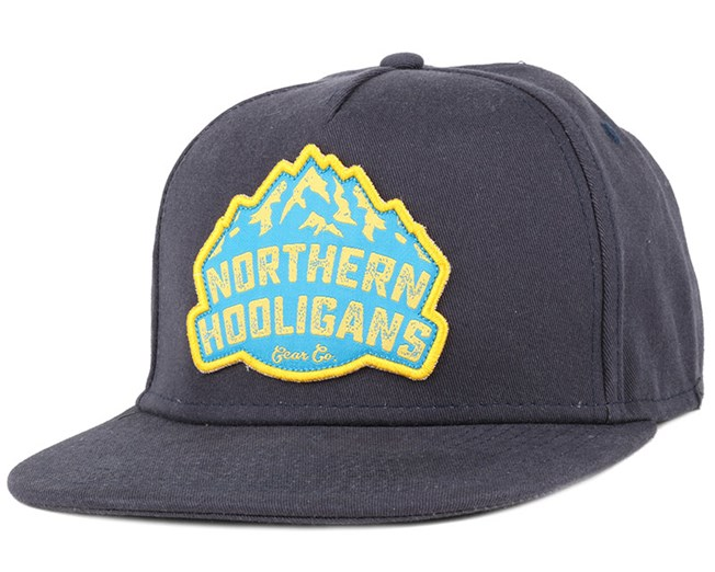 The Gear Co. Navy Snapback - Northern Hooligans