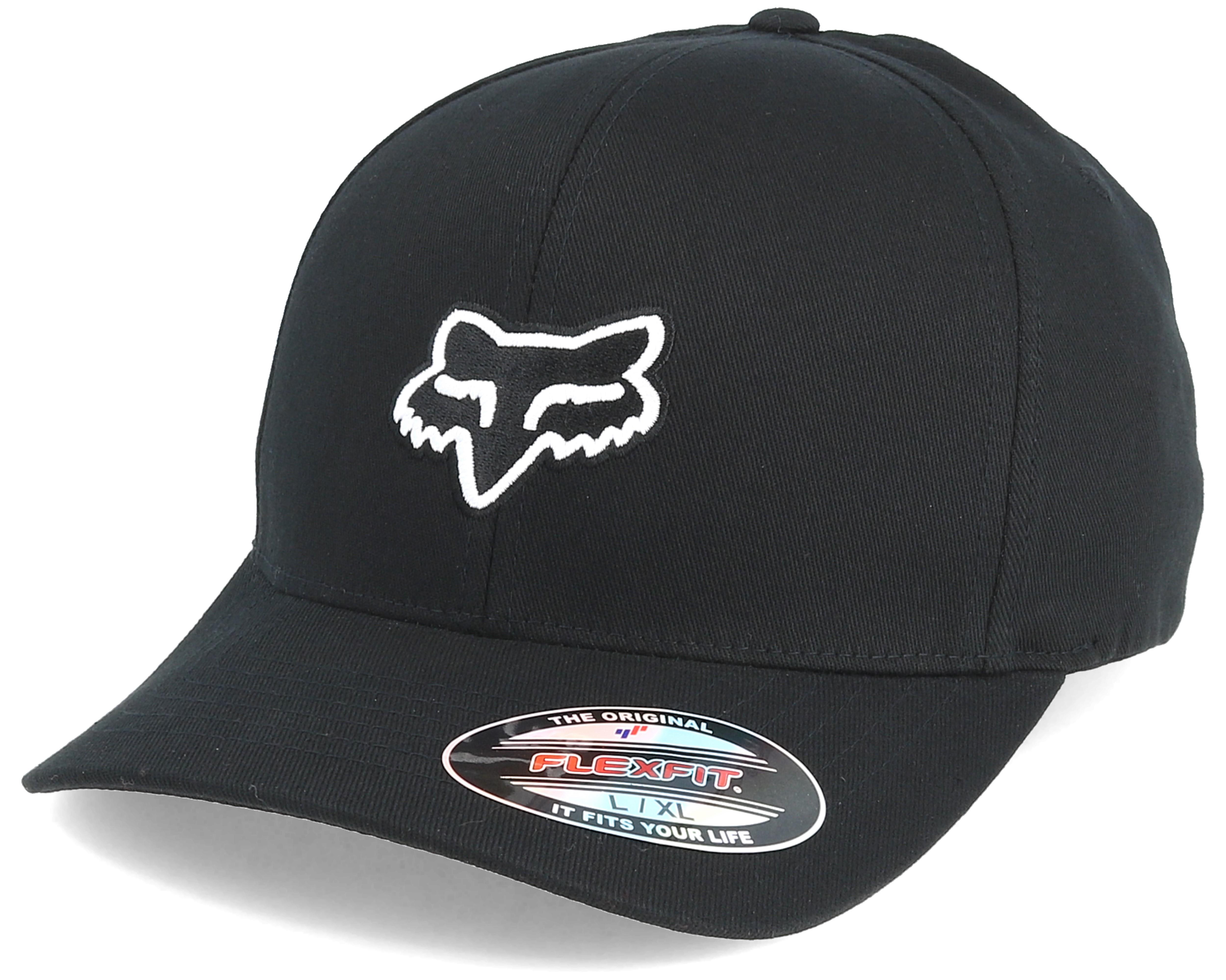 Legacy Flexfit Black - Fox lippis - Hatstore.fi 76aca02e72