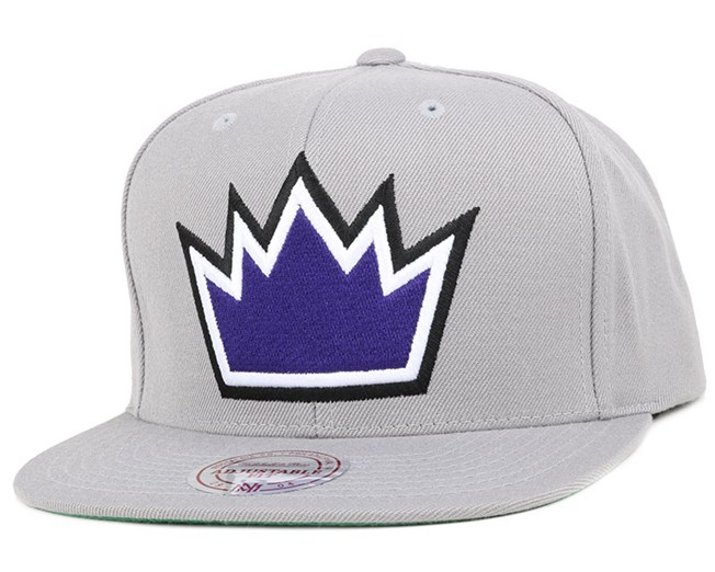 Sacramento Kings Wool Solid Snapback - Mitchell & Ness