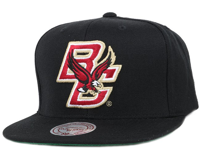 Boston College Eagles Wool Solid Snapback - Mitchell & Ness