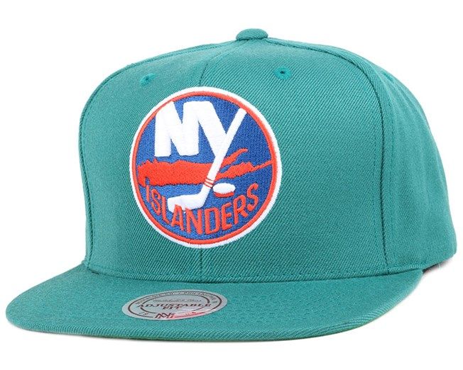 NY Islanders Wool Solid 2 Snapback - Mitchell & Ness