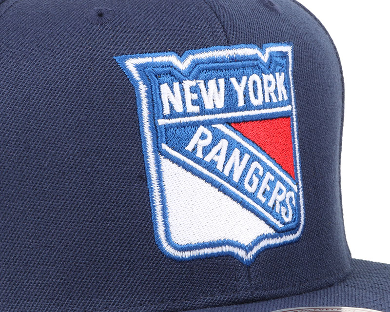 ny rangers wool solid 2 snapback mitchell ness casquette. Black Bedroom Furniture Sets. Home Design Ideas