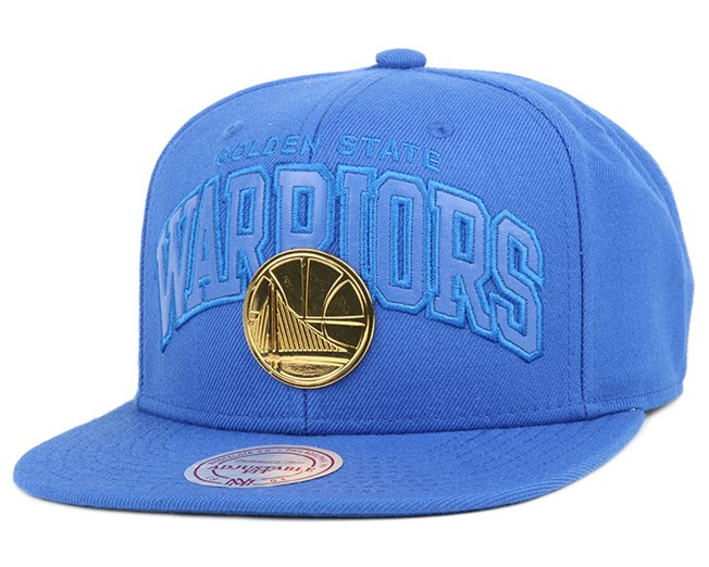 Golden State Warriors Lux Arch Snapback - Mitchell & Ness