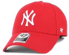 NY Yankees Mvp Red Adjustable - 47 Brand