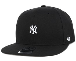 NY Yankees Centerfield Black Snapback - 47 Brand