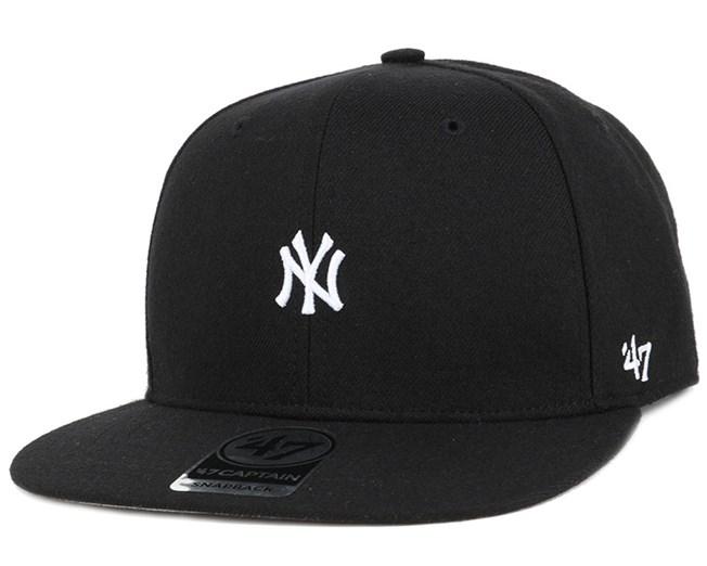 NY Yankees Centerfield Black Snapback - 47 Brand