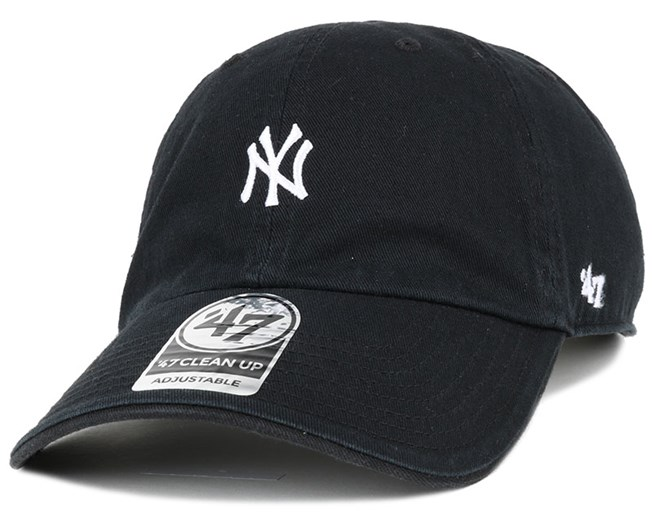 NY Yankees Centerfield Clean Up Black Adjustable - 47 Brand
