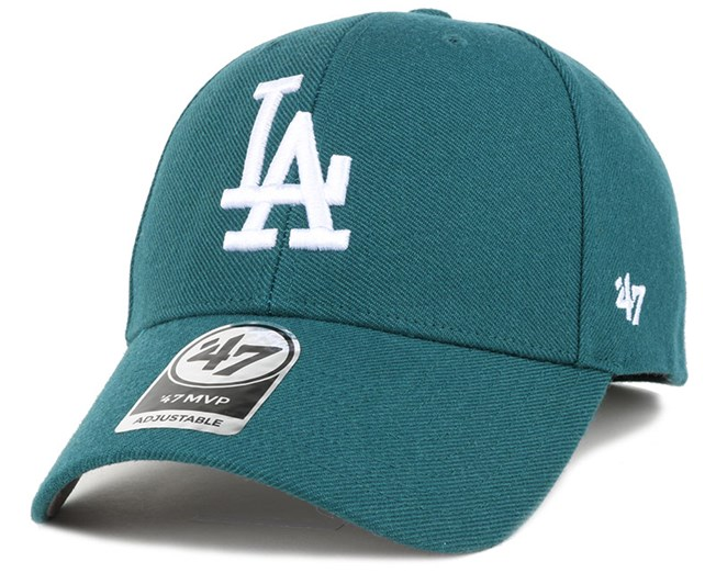 LA Dodgers Mvp Pacific Green Adjustable - 47 Brand