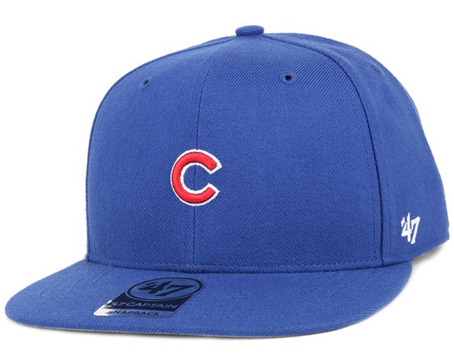 Chicago Cubs Centerfield Captain Royal Snapback - 47 Brand