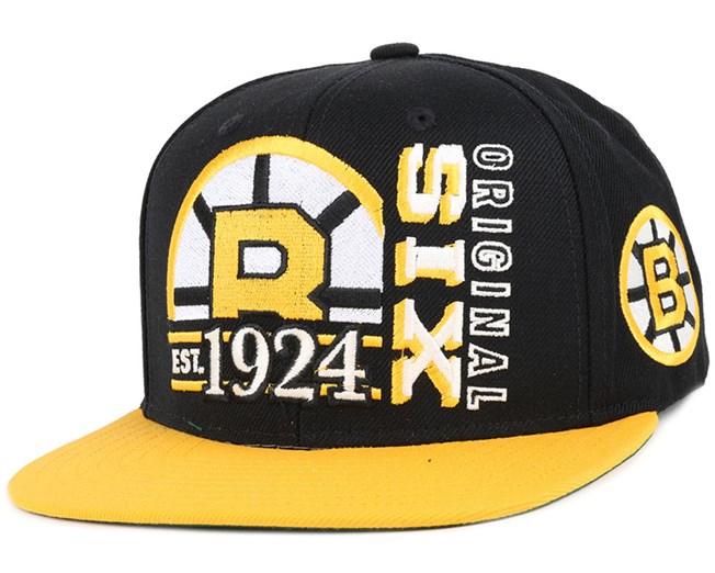Boston Bruins Org 6 Snapback - Reebok