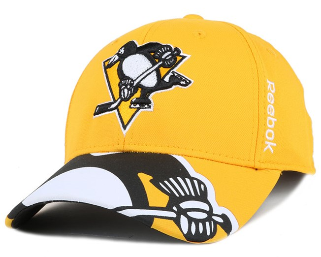 Pittsburgh Penguins Bonded Logo Adjustable - Reebok