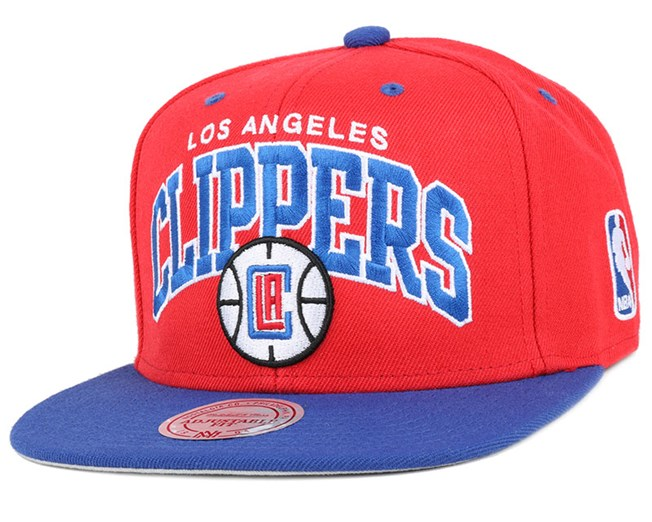 LA Clippers Team Arch 2 Snapback - Mitchell & Ness