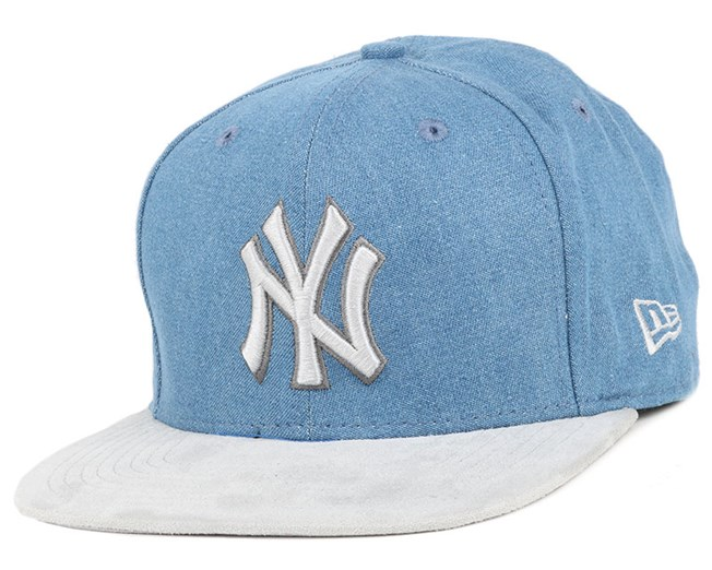 NY Yankees Rustic Light Royal/Grey 9Fifty Snapback - New Era