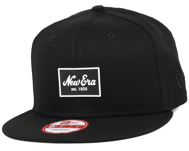 Patched Tone Black 9Fifty Snapback - New Era